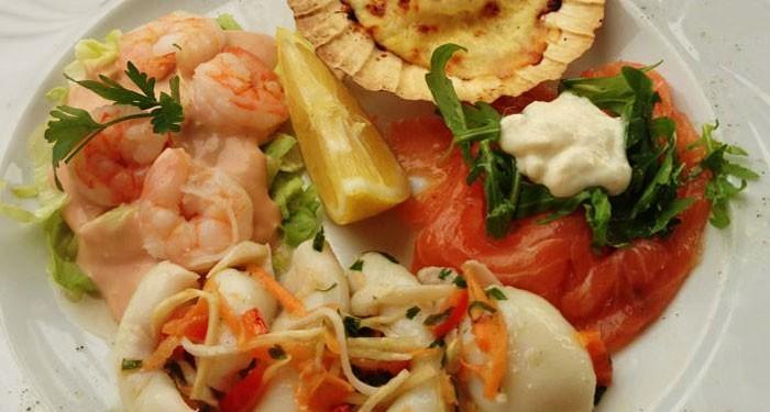 Erlesene Küche beim Italiener Da Angelo
