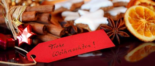 Weihnachtsfeier in München im Da Angelo